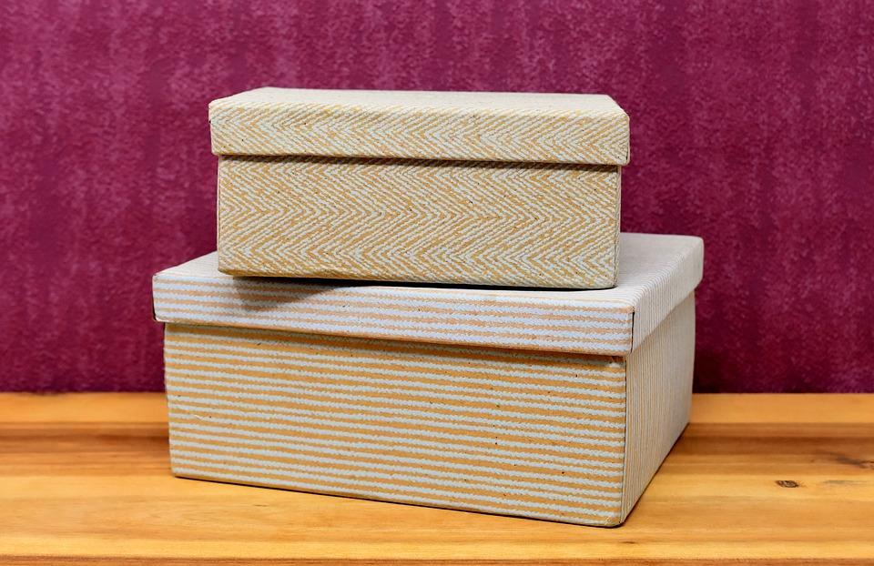 Ideas De Cajas De Cartón Decoradas Regala Cajas Recicladas