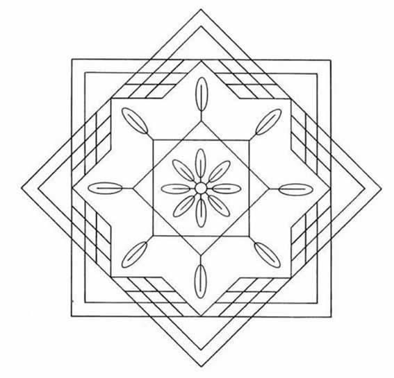 5 Dibujos De Mandalas Para Colorear Imágenes De Mandalas Para Pintar