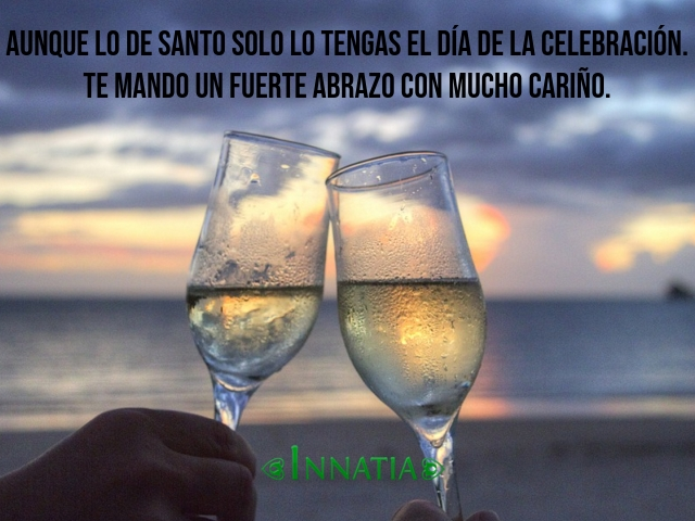 40 Felicitaciones De Santo Gratis Originales Graciosas Y
