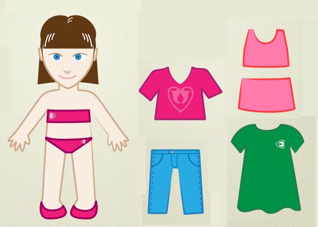 Cómo Hacer Juegos De Vestir Para Muñecas De Papel Paso A